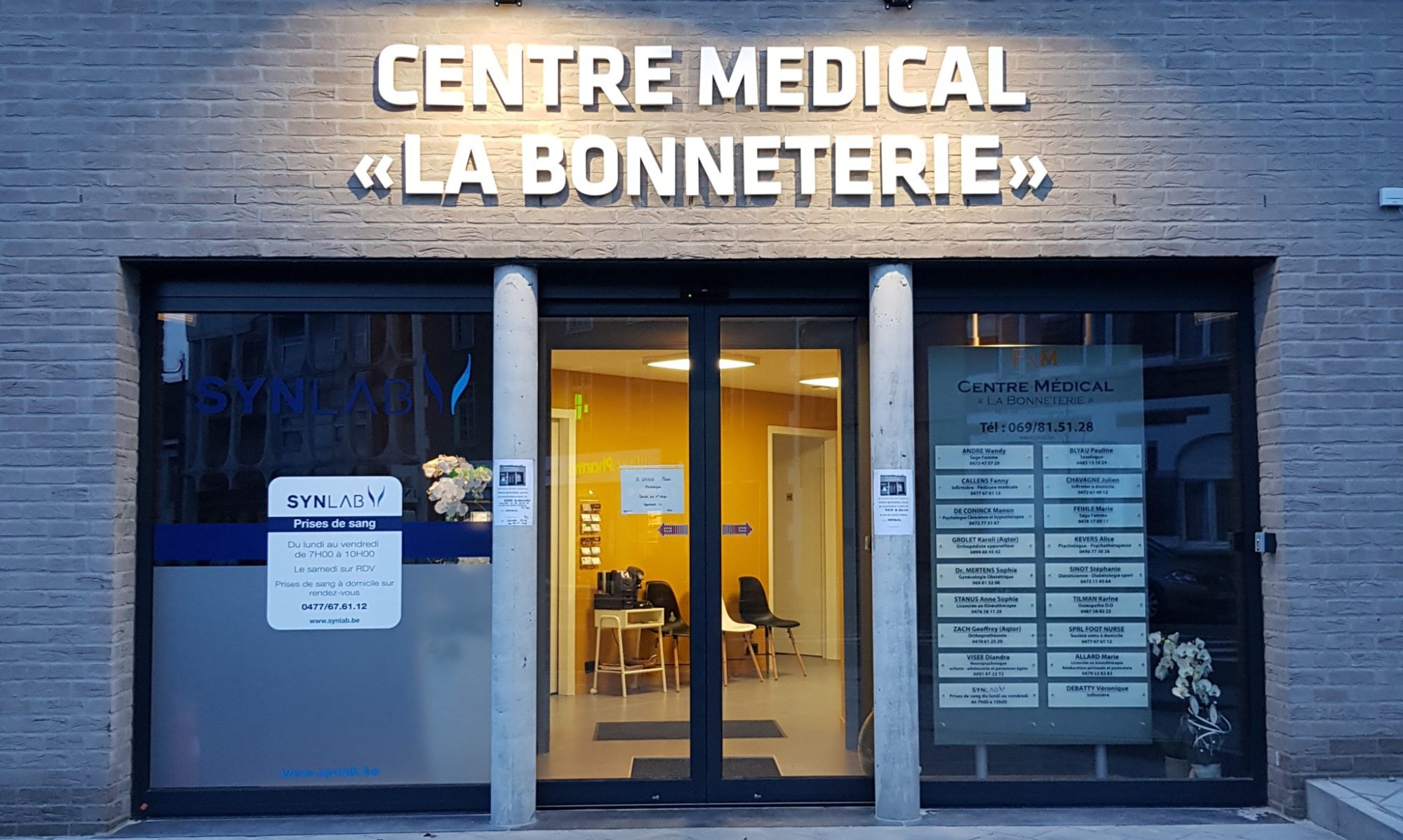 "Centre Médical ""La Bonneterie"""